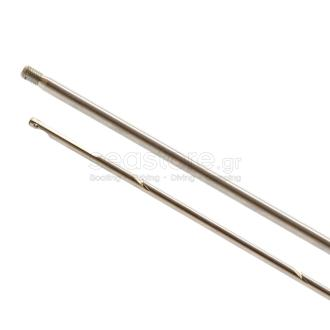 Βέργα pathos με σπείρωμα Φ7mm 95cm με τρύπα