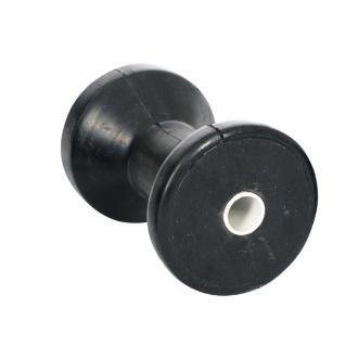 Ράουλο καρίνας ελαστικό μαύρο 11.5x8.5cm