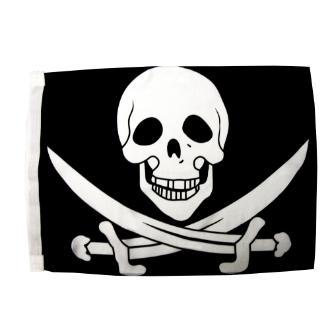 Σημαία πειρατική 50cm ορθογώνια