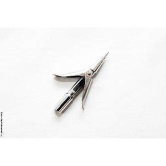 Δελφινιέρα Xifias Διφτερη 8cm Φ7mm χρωμιωμένη