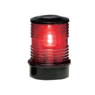 Φάνος περιβλέπτος με μαύρο κάλυμμα και κόκκινο γυαλάκι