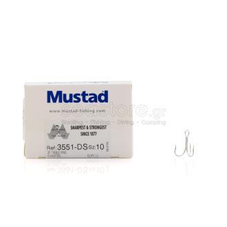 Σαλαγκιές Mustad 3551DS No10 50τμχ