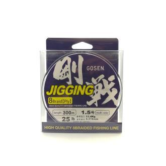 Νήμα Gosen Jigging 300m 1.0p