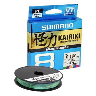 Νήμα Shimano kairiki 150m 0.10mm