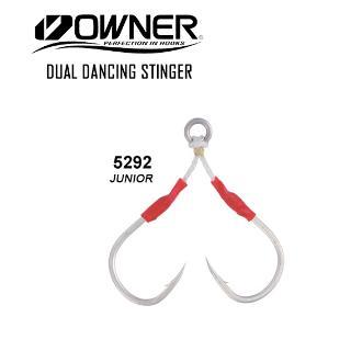 Αγκίστρια Owner Dual Dancing Stinger Junior No1
