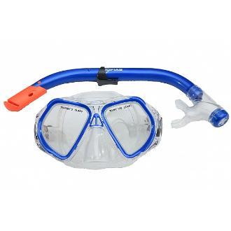 SILITER SET μάσκα με αναπνευστήρα με βαλβίδα για εφήβους