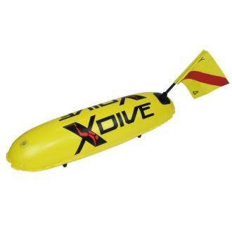 Σημαδούρα τορπίλη xDive μονού θαλάμου, κίτρινο