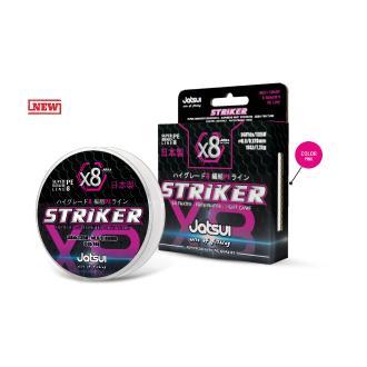 Νήμα Jatsui Striker x8 275m 0.258m (2.0), ροζ