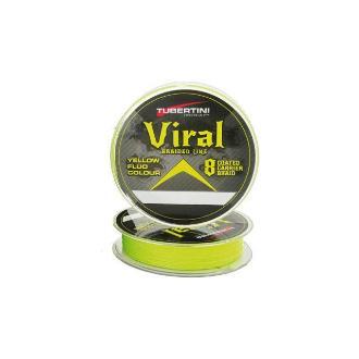 Νήμα Tubertini Viral 8 Braid 150m 0,08mm Κιτρινο