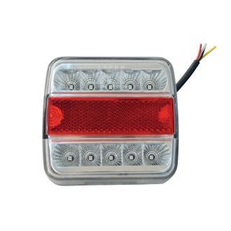 Φανάρι όπισθεν αδιάβροχο τετράγωνο 2 χρήσεων με LED