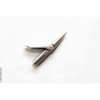 Δελφινιέρα Xifias μονόφτερη 6.5cm ανοξείδωτη