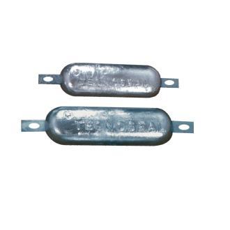 Ανόδιο ηλεκτρόλυσης Tecnoseal 0.5kg 11.5x6x1.7cm
