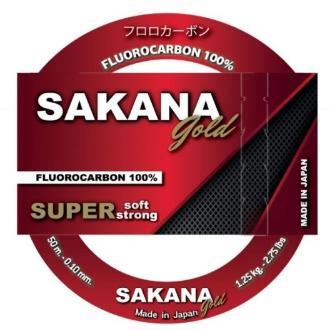 Μισινέζα Sakana Gold new 50m 0.16mm