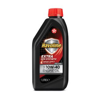 Λάδι Texaco Havoline 10W-40 extra semi synthetic 1lt
