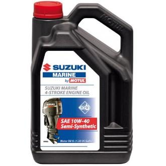Λάδι Suzuki Marine By motul semi synthetic 4T 10W30 5lt