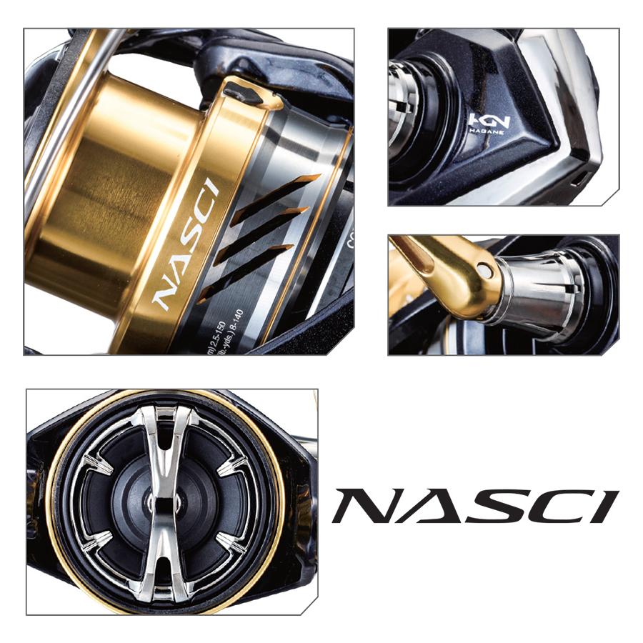 Μηχανισμός SHIMANO Nasci 2500FB