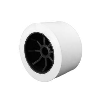 Ράουλο τρέιλερ λευκό με μαύρες ακτίνες 11x6.8cm