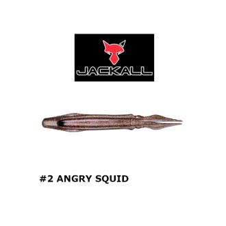 Σκουλήκια Jackall Binbin trailer surume Desu 11cm 4τμχ
