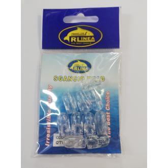 Χάντρες RLinea για κούμπωμα παράμαλλου 17x9mm 25τμχ