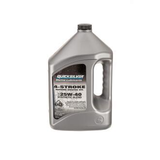 Λάδι QuickSilver 4T 25W-40 synthetic blend 4lt