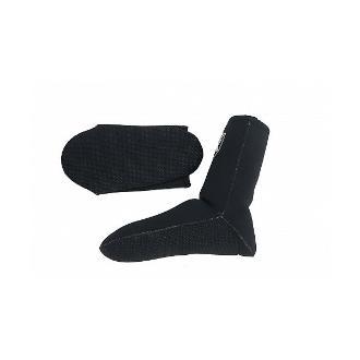 Καλτσάκια Xifias 3mm μαύρα, large