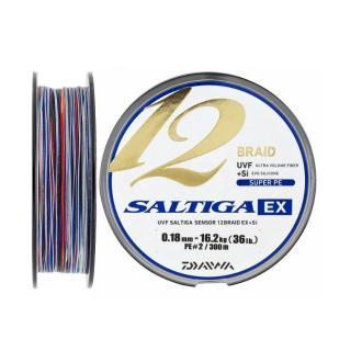 Νήμα Daiwa Saltigs EX 12Braid 300m 0.18mm(2)