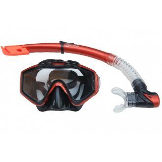 Siliter Set μάσκα και αναπνευστήρα με βαλβίδα για ενήλικες