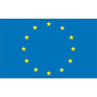 Σημαία Lalizas 20x30cm ευρωπαϊκής ενώσης